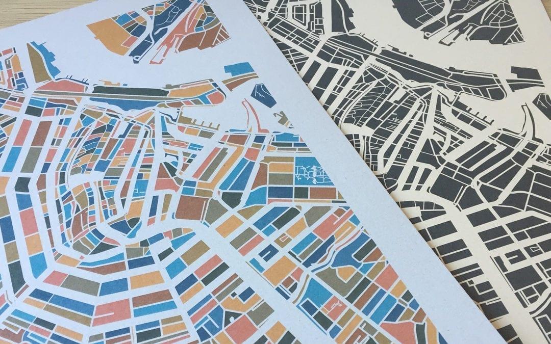 Een duurzame plattegrond van Amsterdam
