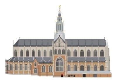 Grote of St. Bavo kerk