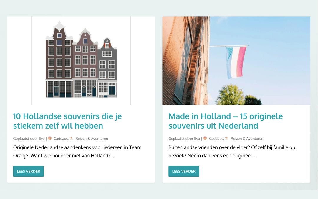 Hollandse Huisjes aanbevolen in de media!